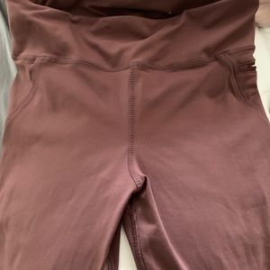Mono b Yoga Capris - Mauve Color